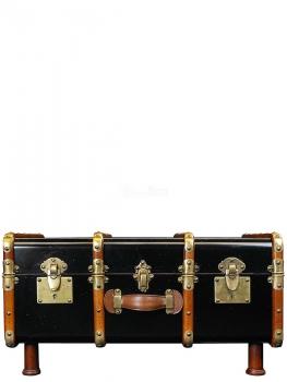moebelempire couchtisch koffer black. Black Bedroom Furniture Sets. Home Design Ideas
